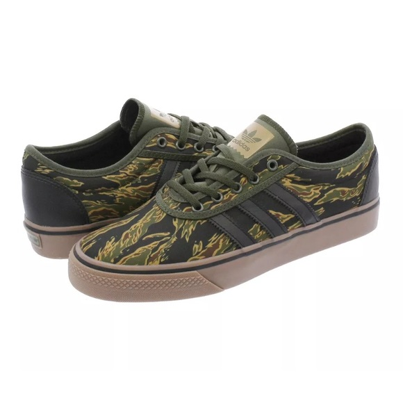 sports shoes 50554 451e3 Adidas Adi Ease Camouflage Canvas Trainers B27993